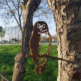 Metal Bird - Little Owl