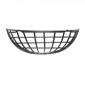 Metal Wall Plant Basket 40 cm with Coconut Inlay