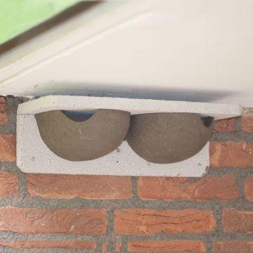 WoodStone® House Martin Nest - Double