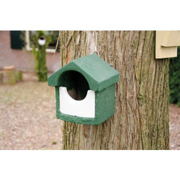 National Trust WoodStone Open Nest Box Green