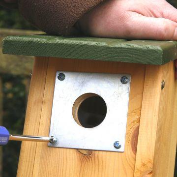 Nest Box Plate (32mm)