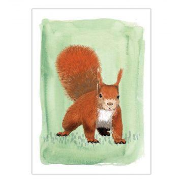Myrte Squirrel Card