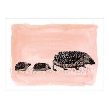 Myrte Hedgehog Card