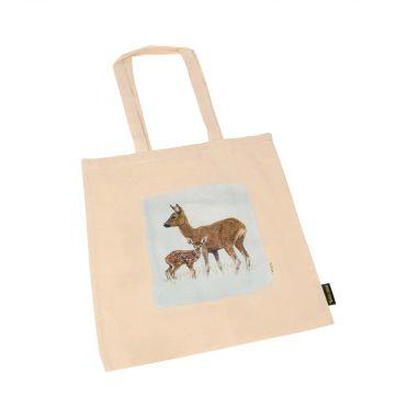 Myrte Deer Cotton Bag