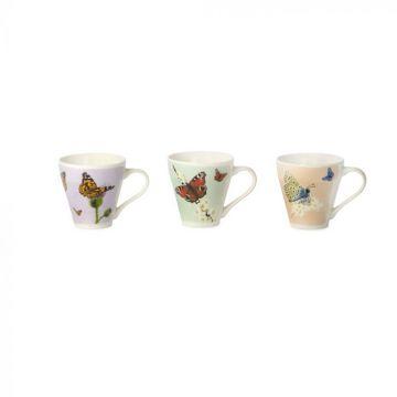 Myrte Butterfly Mug Set