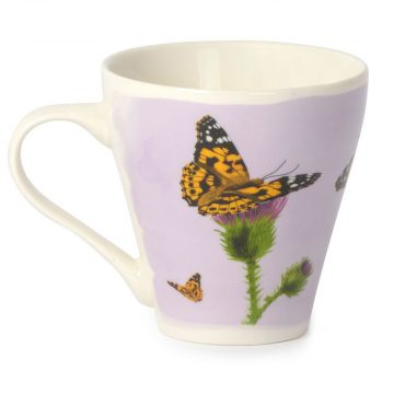 Myrte Painted Lady Butterfly Mug