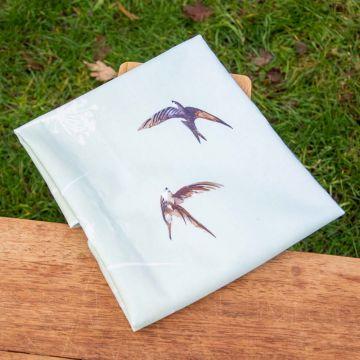 Roy Kirkham Swallow Tea Towel Green & Blue)