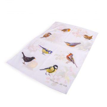 Elwin van der Kolk Garden Birds Tea Towel