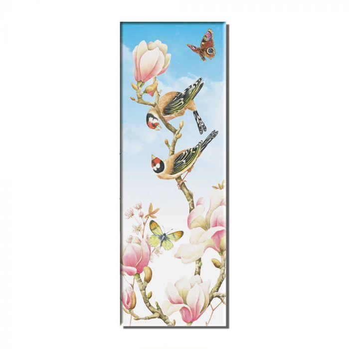 Magnolia Fridge Magnet by Janneke Brinkman