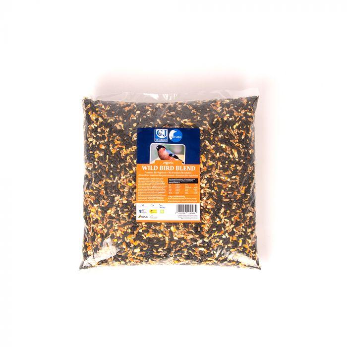 Organic Wild Bird Seed Blend (2.5kg)