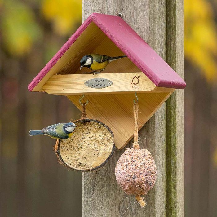 Yellowstone Bird Feeder - Plum