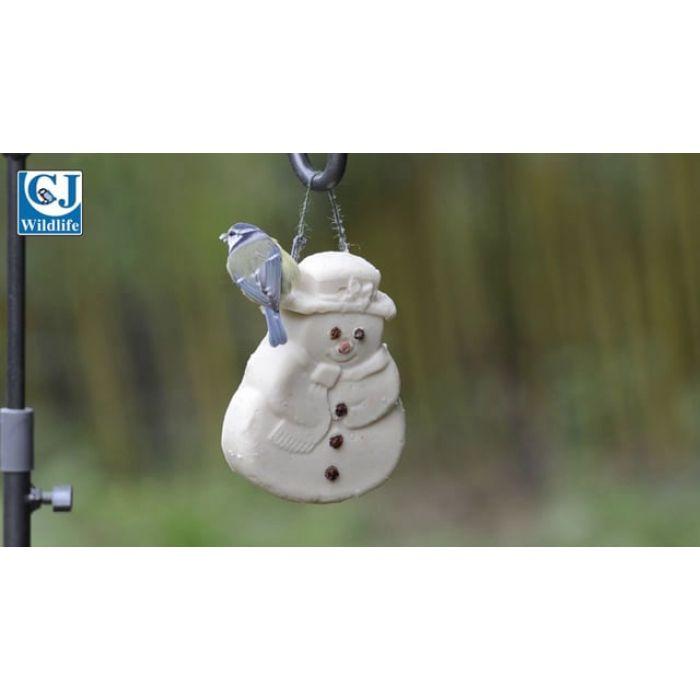 Suet Christmas Snowman
