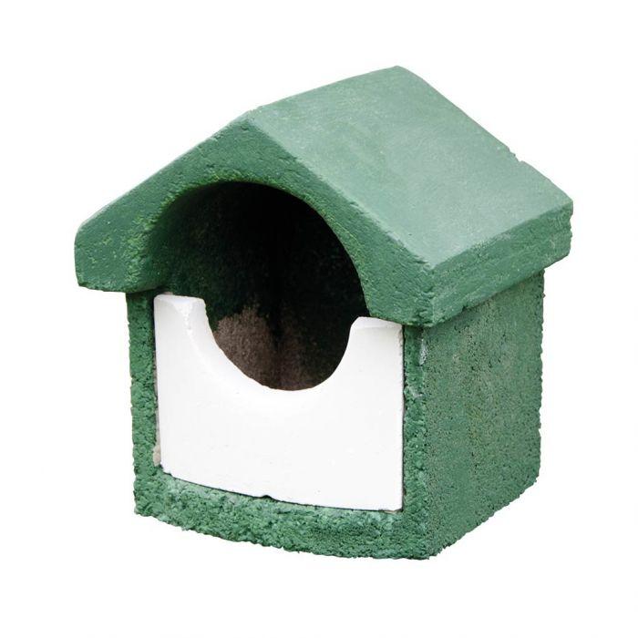 National Trust WoodStone Open Nest Box Green