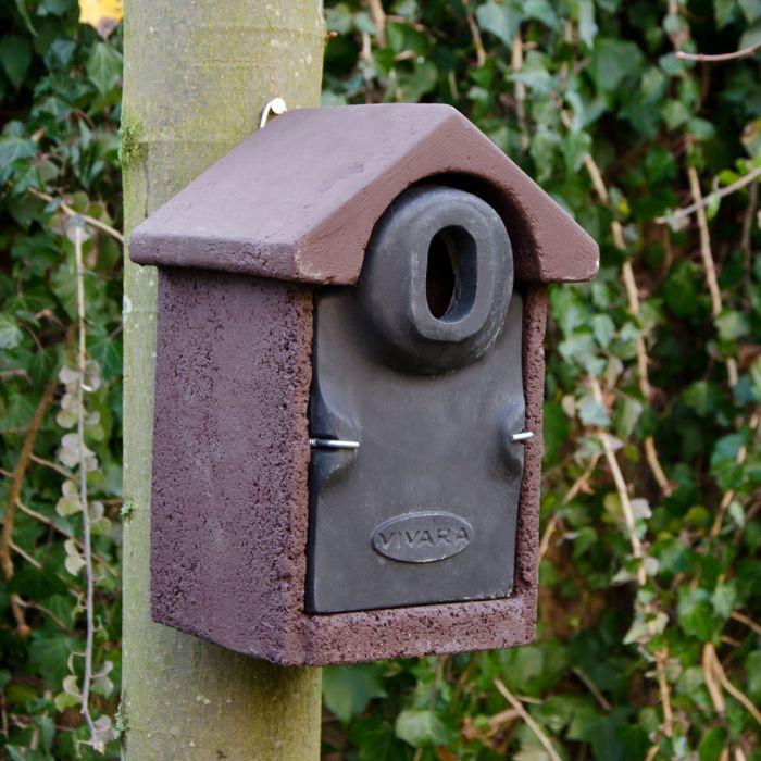 WoodStoneᄅ Bilbao 32mm Oval Hole Nest Box
