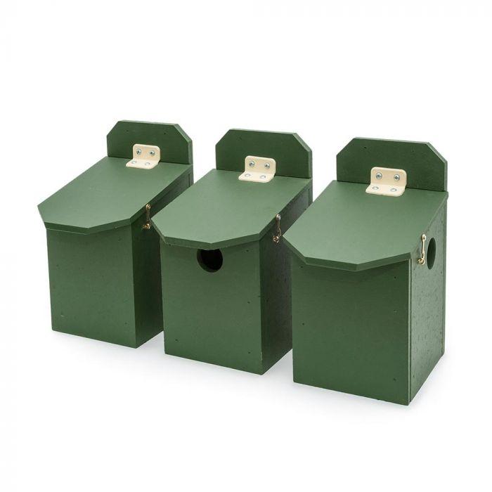 Eco-Plate House Sparrow Multi Box - Set of 3
