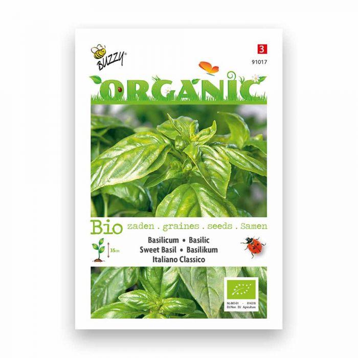 Buzzy® Organic Sweet Basil - Italiano Clas