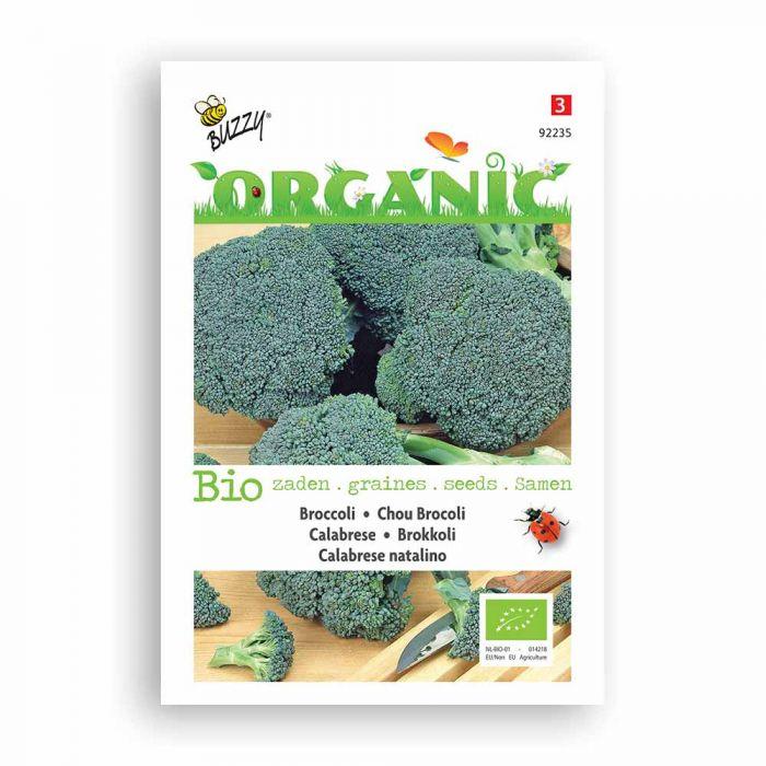 Buzzy® Organic Broccoli - Green Calabar nat