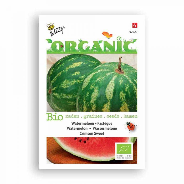 Buzzy® Organic Watermelon - Crimson Sweet