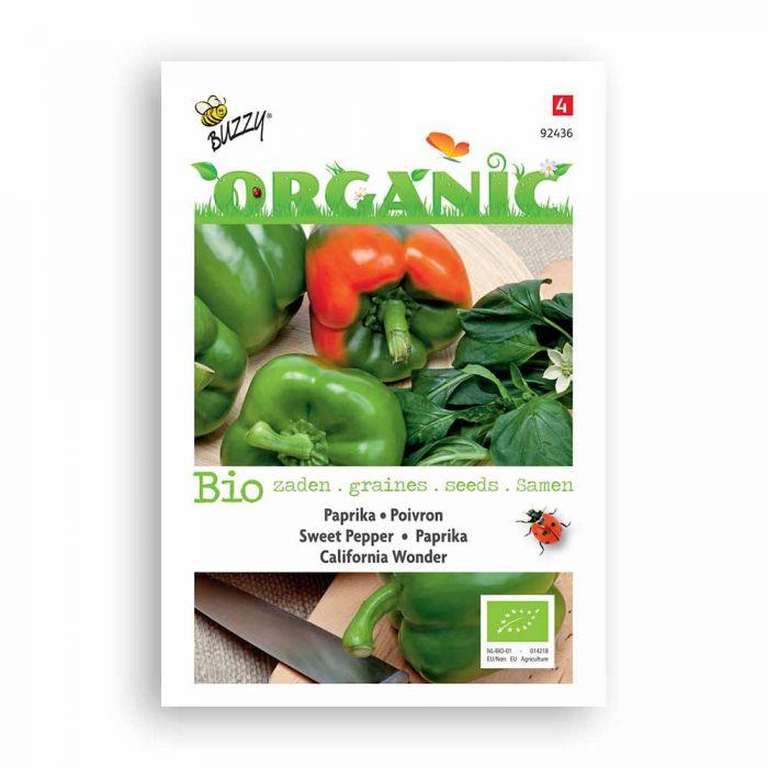 Buzzy® Organic Sweet Pepper - Calif. Won.