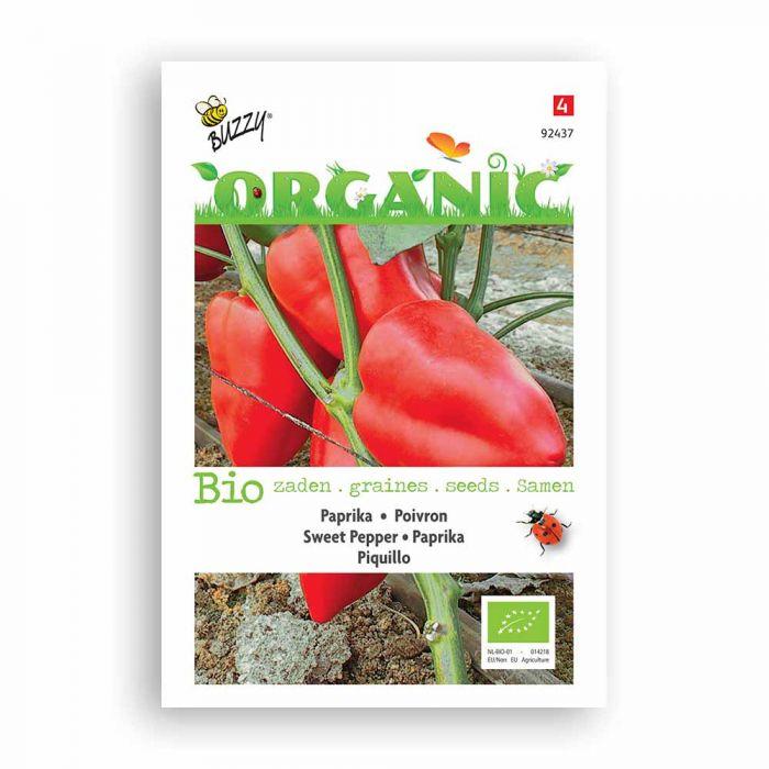 Buzzy® Organic Sweet Pepper - Piquillo (BIO)