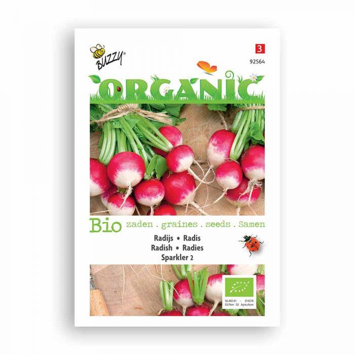 Buzzy® Organic Radish - Sparkler 2 (BIO)