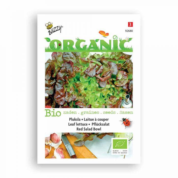 Buzzy® Organic Leaf Lettuce - Red Salad Bowl