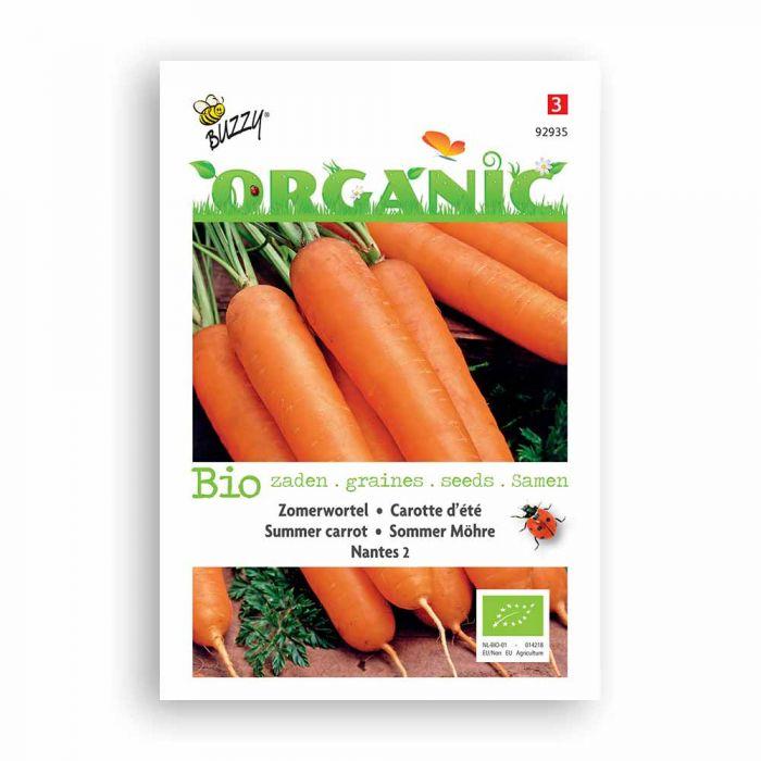 Buzzy® Organic Summer Carrot -  Nantes 2BIO