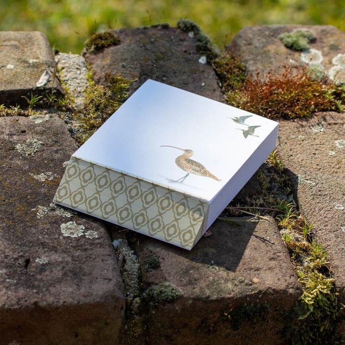 Curlew Notepad by Elwin van der Kolk