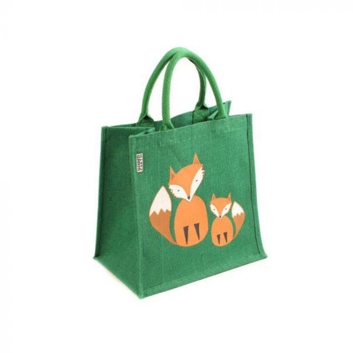 Fox Jute Bag