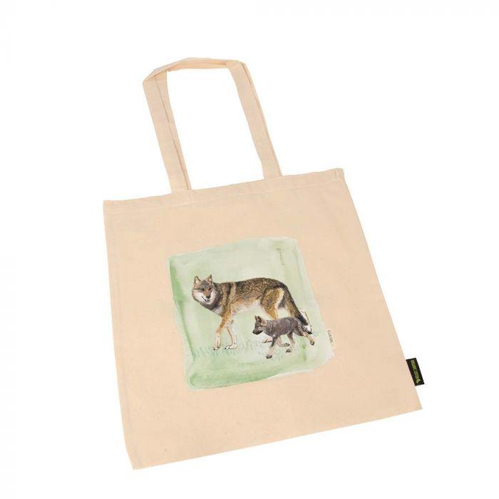Myrte Wolf Cotton Bag