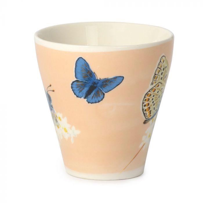 Myrte Common Blue Butterfly Mug
