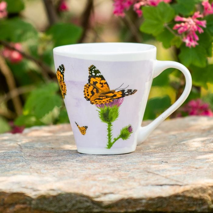 Myrte Painted Lady Butterfly Mug