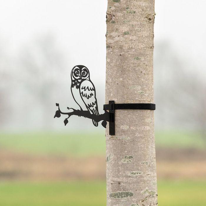 Metal Silhouette – Little Owl