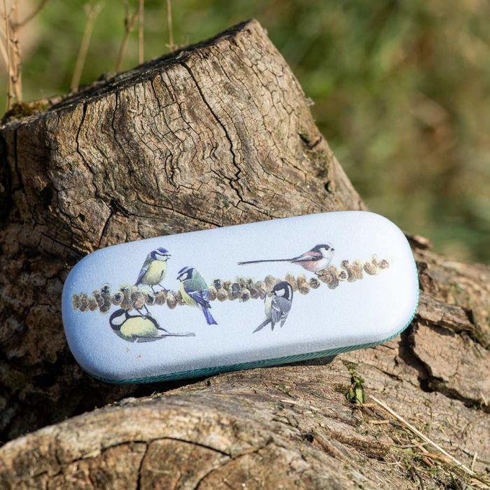 Garden Birds Glasses Case by Elwin van der Kolk