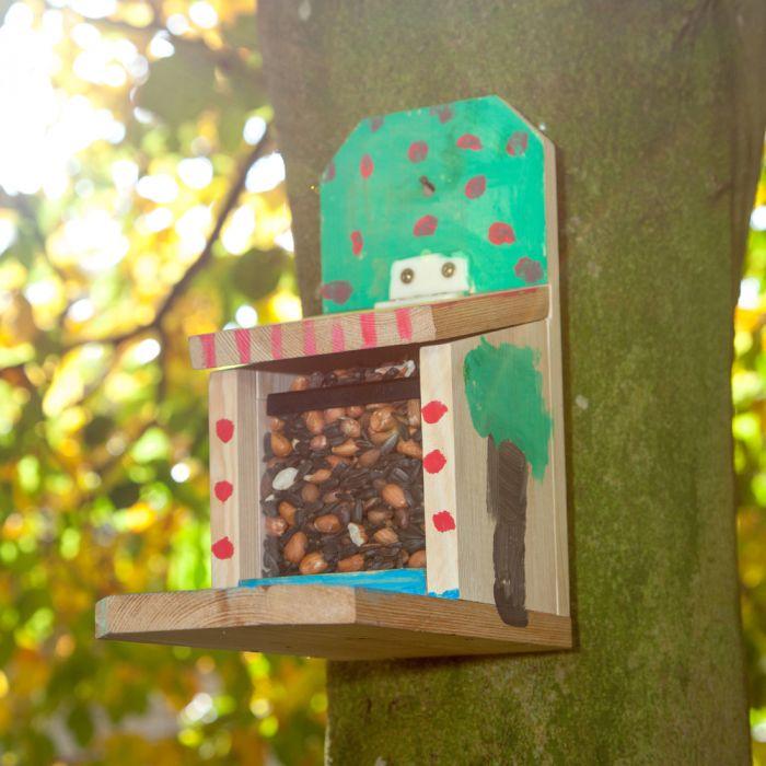 Sanjo Squirrel Feeder Building Kit