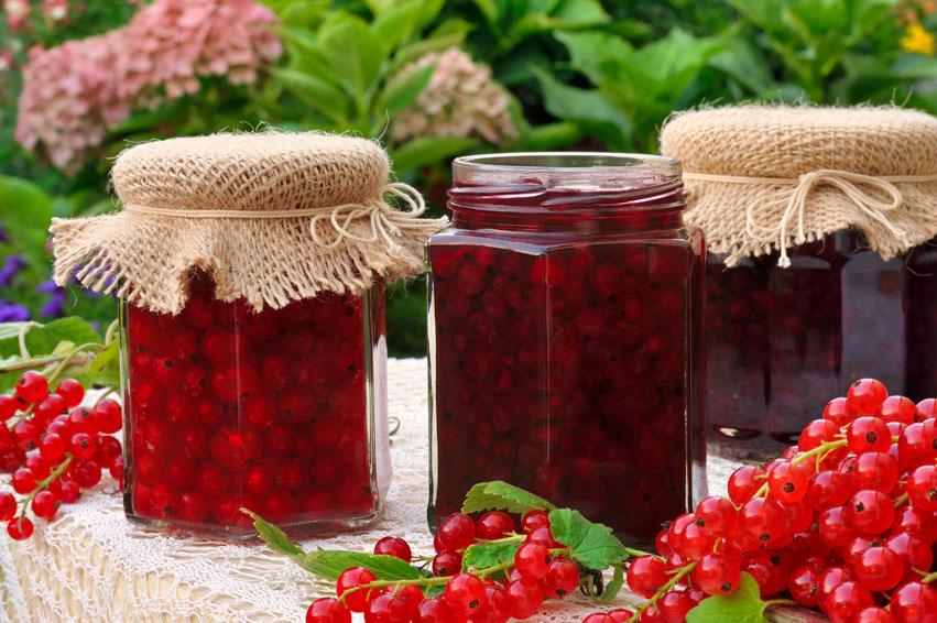 Pots of jam