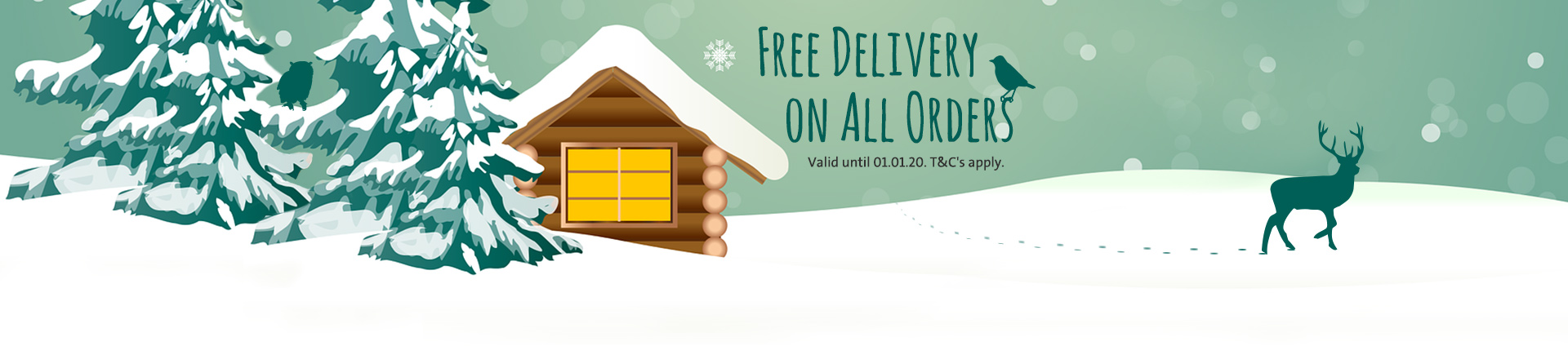 Free Delivery Winter