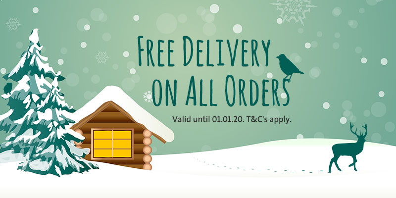 Free Delivery Banners