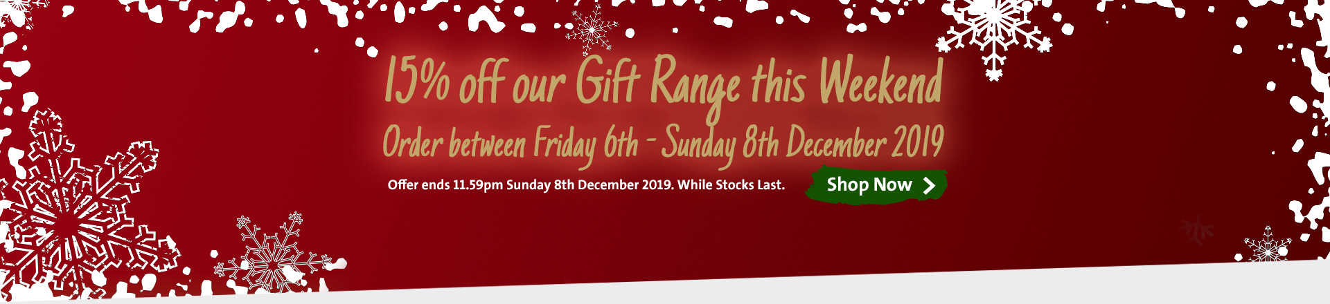 15% off Gifts