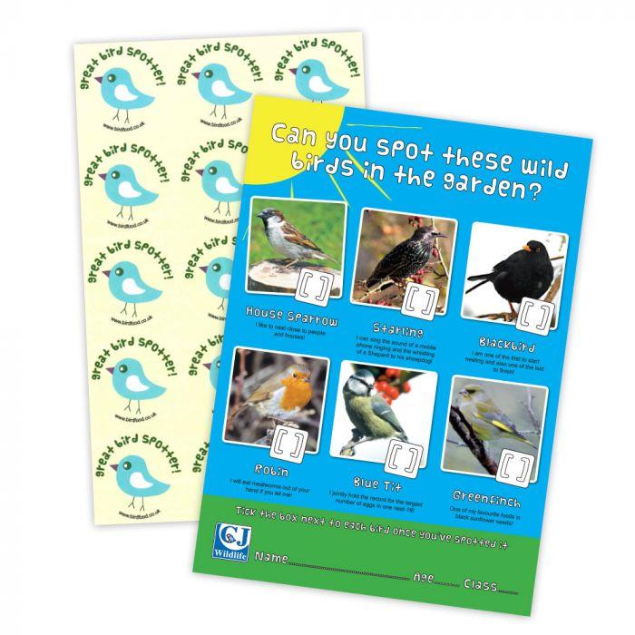 CJ's Children's Free Activity Sheets & Stickers