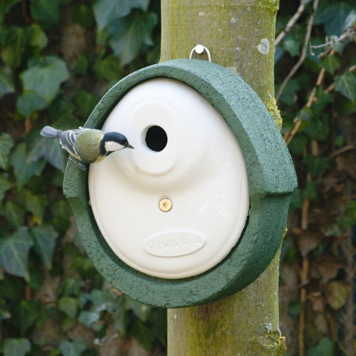 WoodStone® Alicante 28mm Nest Box (Green)