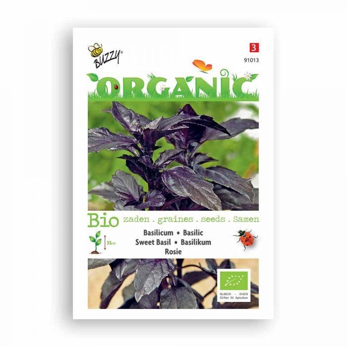 Buzzy® Organic Sweet Basil - Rosie (BIO)