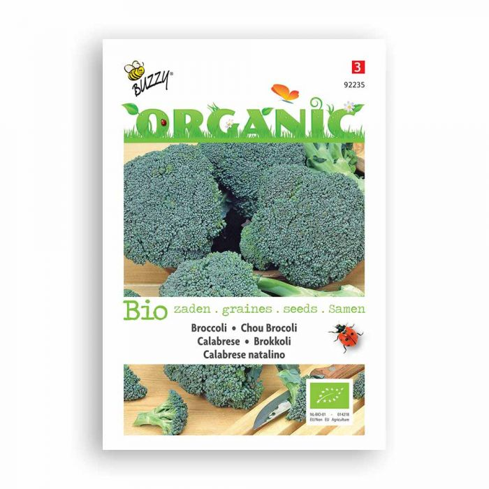 Buzzy® Organic Broccoli - Green Calabar nat