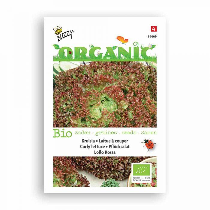 Buzzy® Organic Curly Lettuce - Lollo Rossa