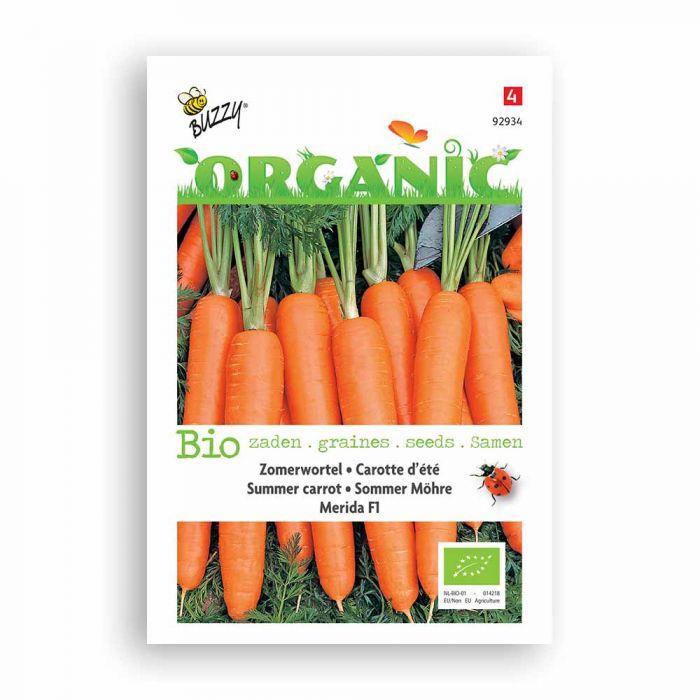 Buzzy® Organic Summer Carrot - Merida F1