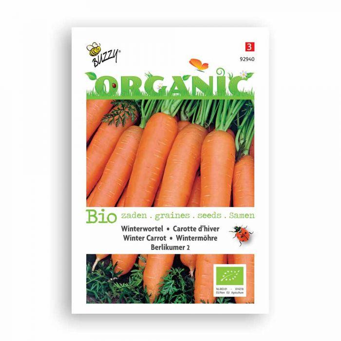 Buzzy® Organic Winter Carrot - Berlicum 2