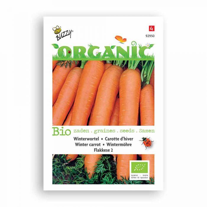 Buzzy® Organic Winter Carrot - Flakkese 2