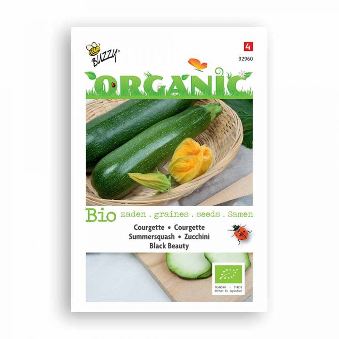 Buzzy® Organic Courgette - Black Beauty