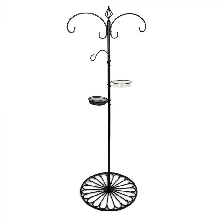 Patio Feeding Pole System - Black