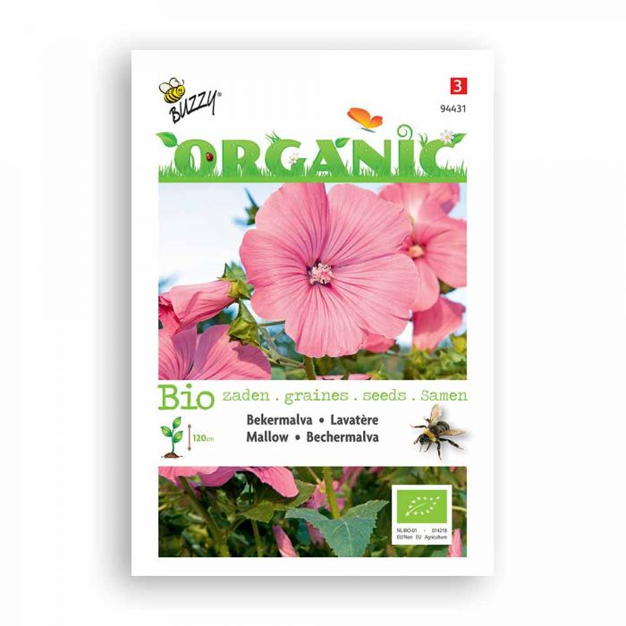 Buzzy® Organic Mallow - Rose/Red (BIO)